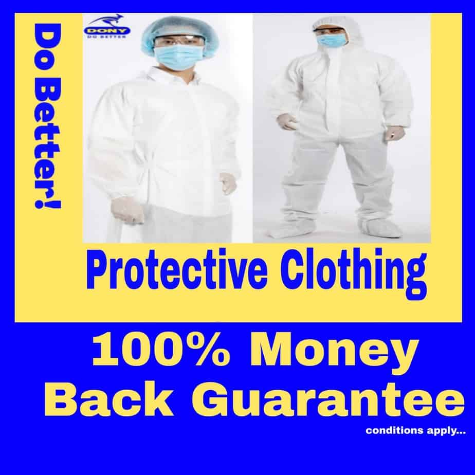 01 DISPOSABLE PROTECTIVE CLOTHING