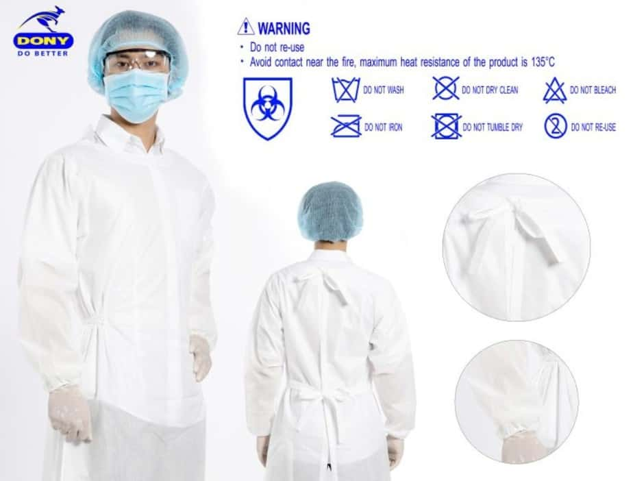 05 DISPOSABLE PROTECTIVE CLOTHING