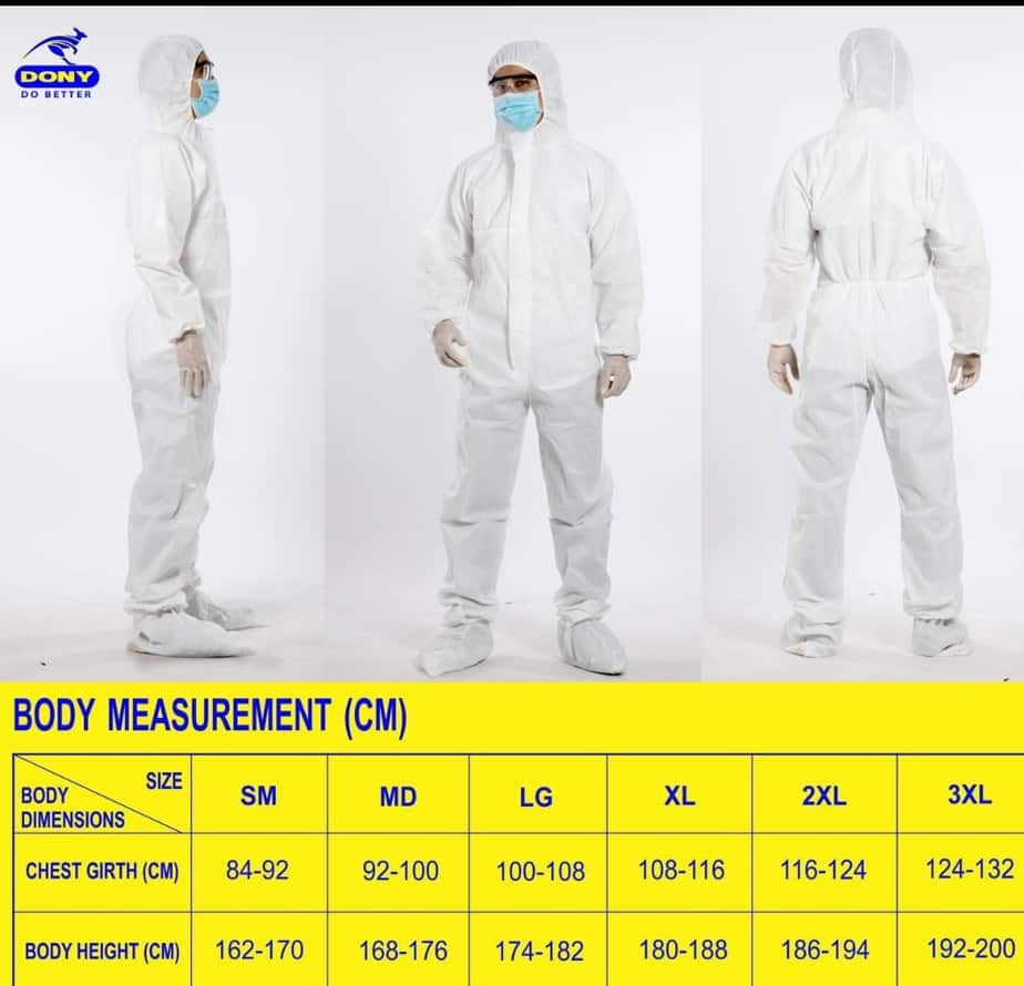 06 DISPOSABLE PROTECTIVE CLOTHING