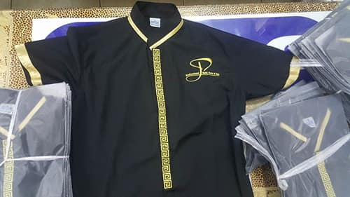 1 AUSTRALIA Spa uniforms send to Australia