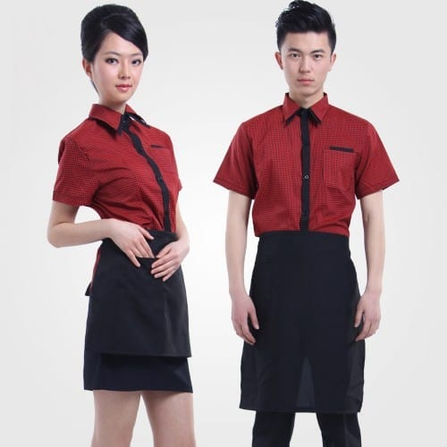 1 Coffee spa uniforms