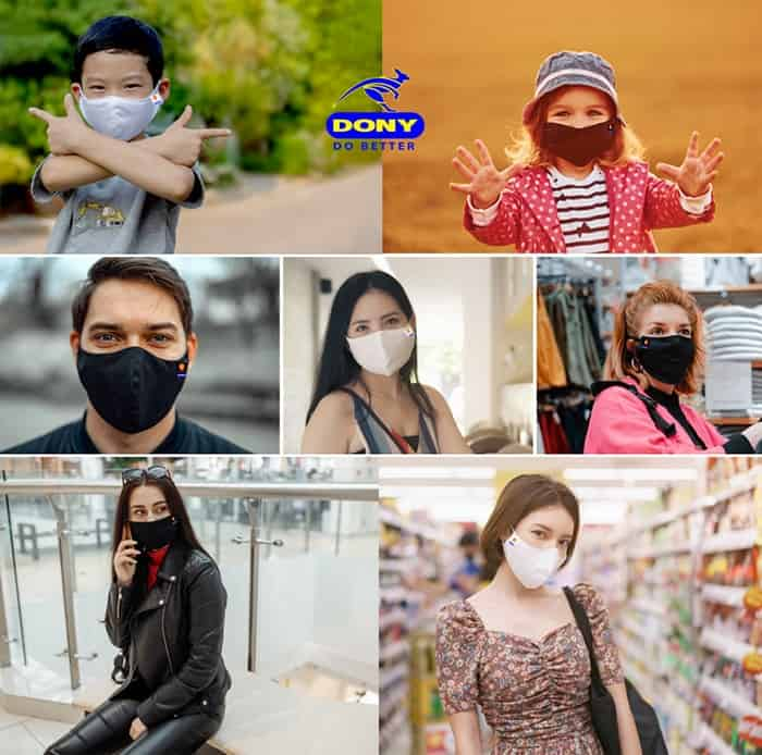 1 DONY Sell 5 million Face Mask to MENA region in 2020