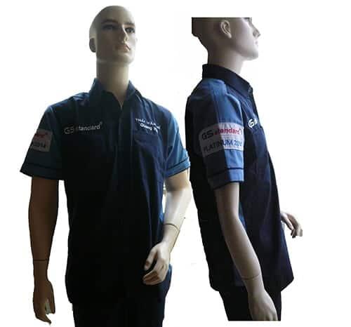 1 Staff uniform of GS Battery Japan