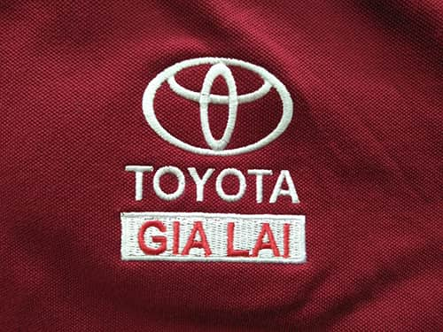 1 TOYOTA order to sew t shirts 3rd at Dony