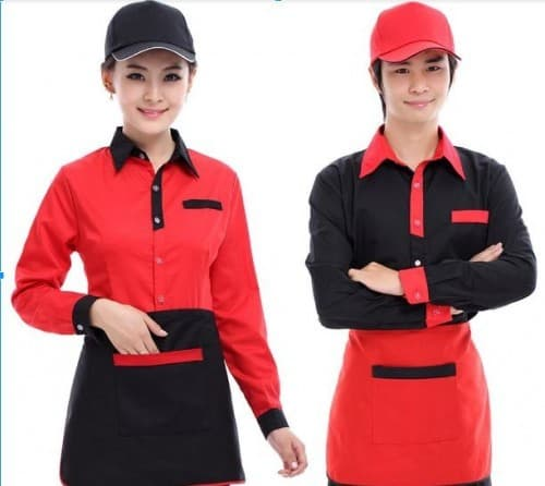 10 Coffee spa uniforms