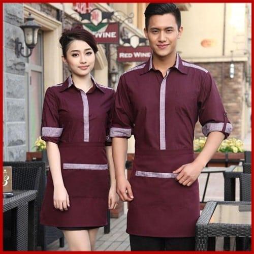 11 Coffee spa uniforms