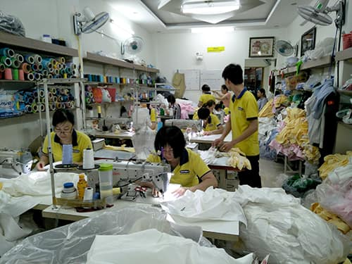 12 JAPAN Daisho Chemical R D Company In Japan Order To Sew Shirts With Large Quantity