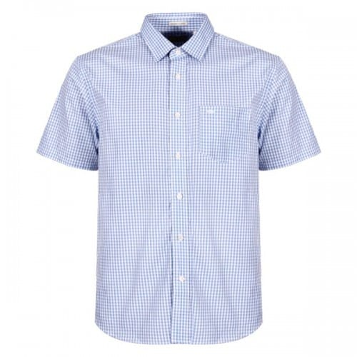 19 Striped shirt Short sleeve shirt Checkered shirt Fashion shirt