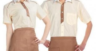 2 Coffee spa uniforms