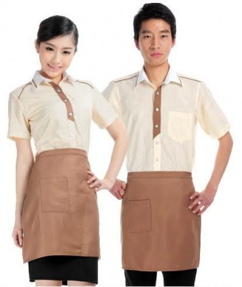2 Coffee spa uniforms