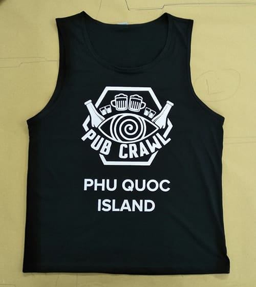 2 Produce uniforms for the Q Hao Hostel in Phu Quoc Island
