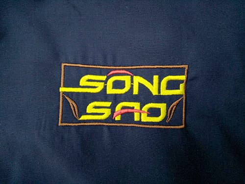 2 Sew uniforms for Song Sao Restaurant
