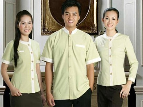 23 Coffee spa uniforms