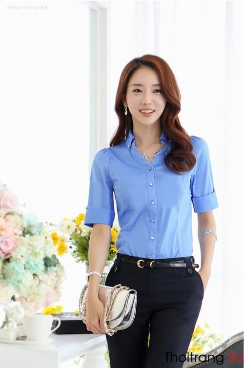 29 Striped shirt Short sleeve shirt Checkered shirt Fashion shirt