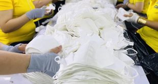 3 PRODUCING ANTIBACTERIAL CLOTH MASKS FOR EXPORT TO BELGIUM