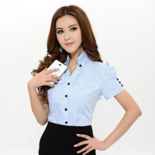 34 Striped shirt Short sleeve shirt Checkered shirt Fashion shirt