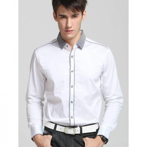 35 Striped shirt Short sleeve shirt Checkered shirt Fashion shirt