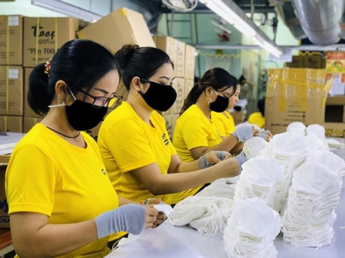 4 Antibacterial Cloth Mask DONY MASK exported to France