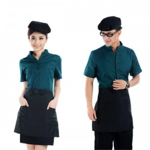 4 Coffee spa uniforms