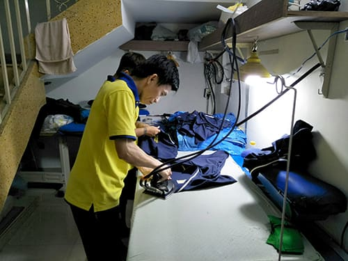 4 Sew uniforms for Song Sao Restaurant