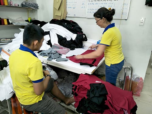4 TOYOTA order to sew t shirts 3rd at Dony