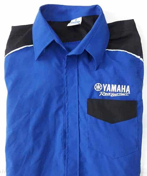 4 YAMAHA uniforms Japan company has a lot of dealers in Vietnam