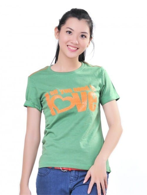 41 T shirt with round neck