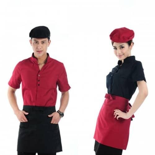 5 Coffee spa uniforms