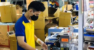 5 PRODUCING ANTIBACTERIAL CLOTH MASKS FOR EXPORT TO JAPAN