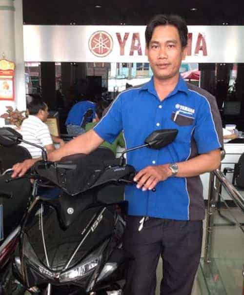 5 YAMAHA uniforms Japan company has a lot of dealers in Vietnam