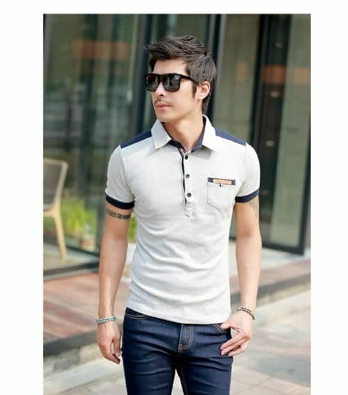 54 T shirt with round neck