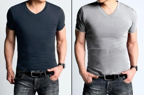 58 T shirt with round neck