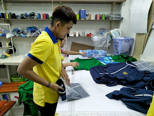 6 Sew uniforms for Song Sao Restaurant