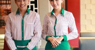 7 Coffee spa uniforms