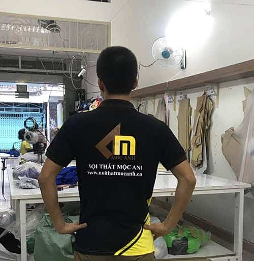 7 Produce uniforms for the Moc Anh Furniture Company
