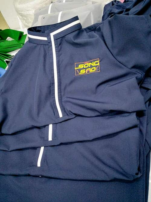 7 Sew uniforms for Song Sao Restaurant
