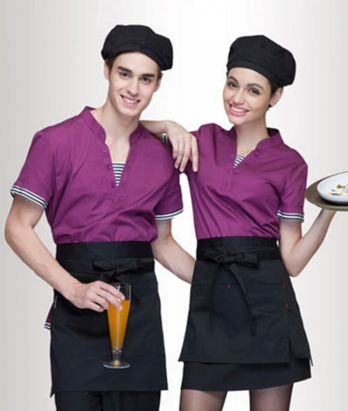 8 Coffee spa uniforms