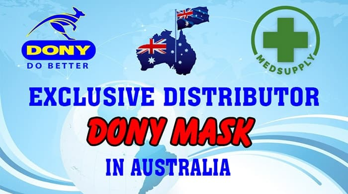 8 MEDSUPPLY THE EXCLUSIVE DISTRIBUTOR IN AUSTRALIA FOR DONY MASK