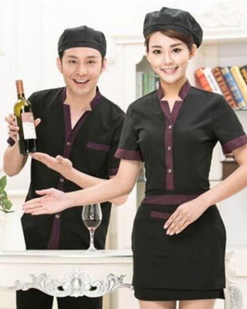 9 Coffee spa uniforms