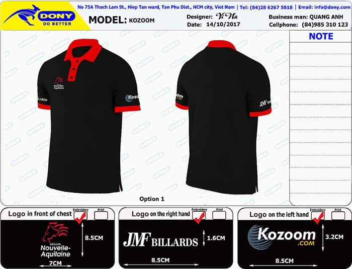 FRANCE KOZOOM Communication In France Order Uniforms