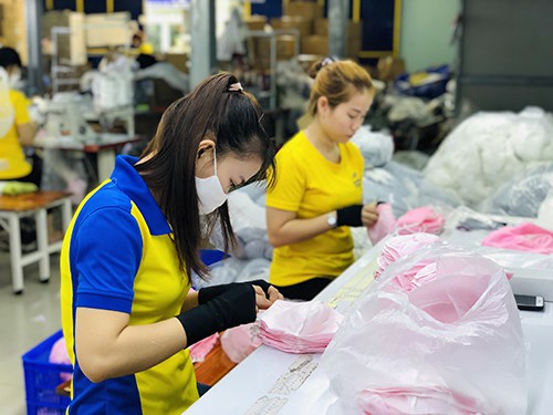 PRODUCING ANTIBACTERIAL CLOTH MASKS FOR EXPORT TO EXCLUSIVE DISTRIBUTOR IN SAUDI ARABIA EGYLAVA COMPANY