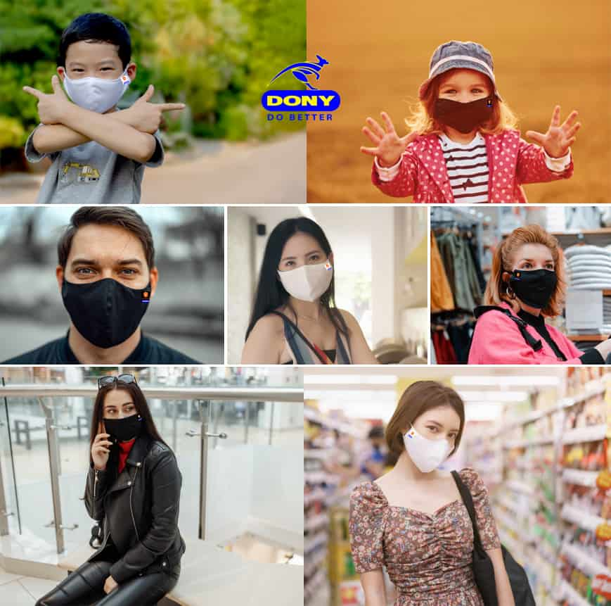 dony mask people wear