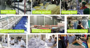 19 departments and its functions at a Garment Factory