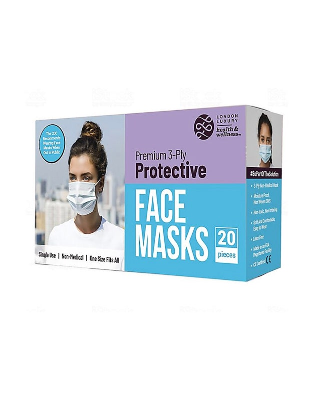 EasyEast Face Mask Three-Layer Design