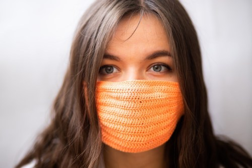 Masks Made From Loosely Woven Or Knit Fabric