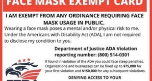 These mask exemption cards are scams