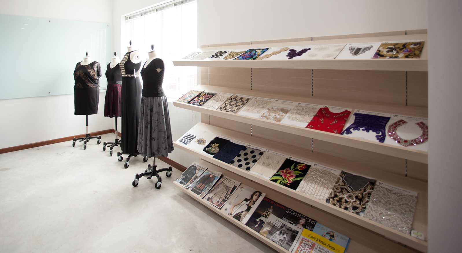 G & G Garments II's design room
