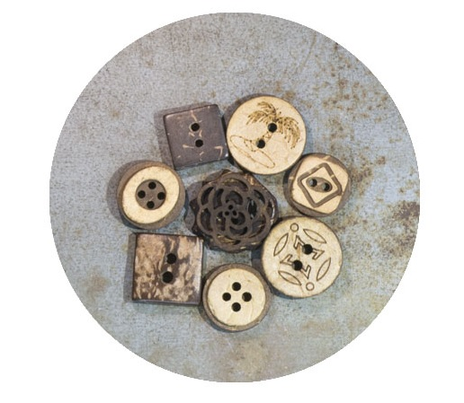 Tuan Hien's timeless button models