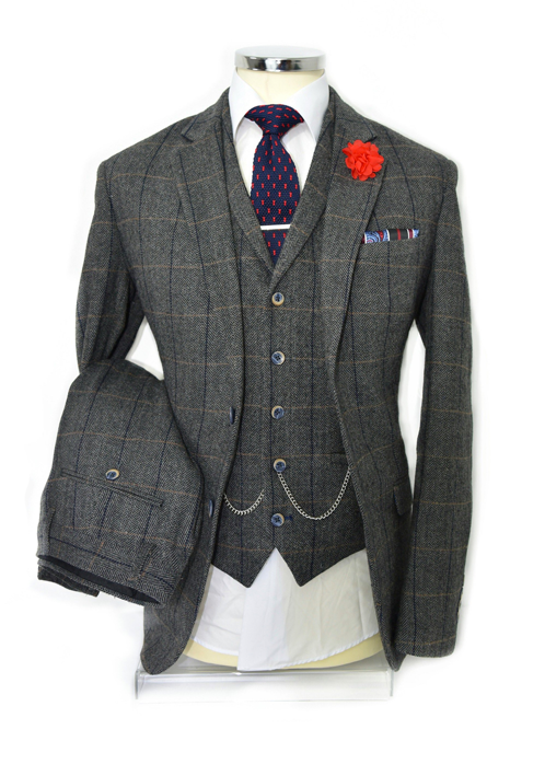 A Tailored Suit By A Dong Silk