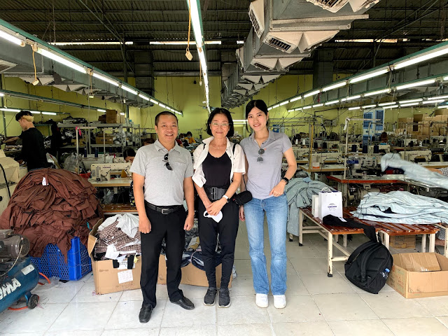 Clients Visiting Gold Garment Factory
